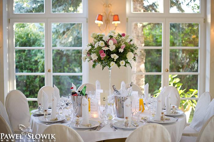 Villa Julianna Piękna sala na wesele