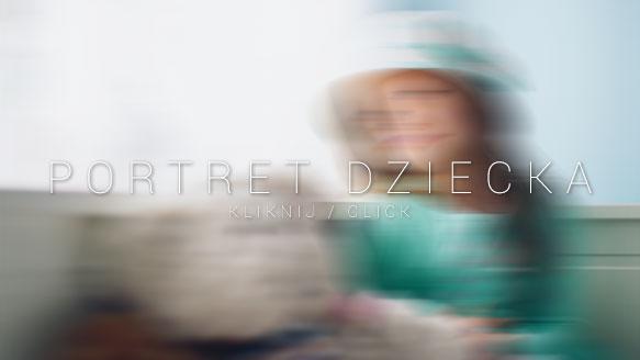 fotograf na chrzest portret dziecka