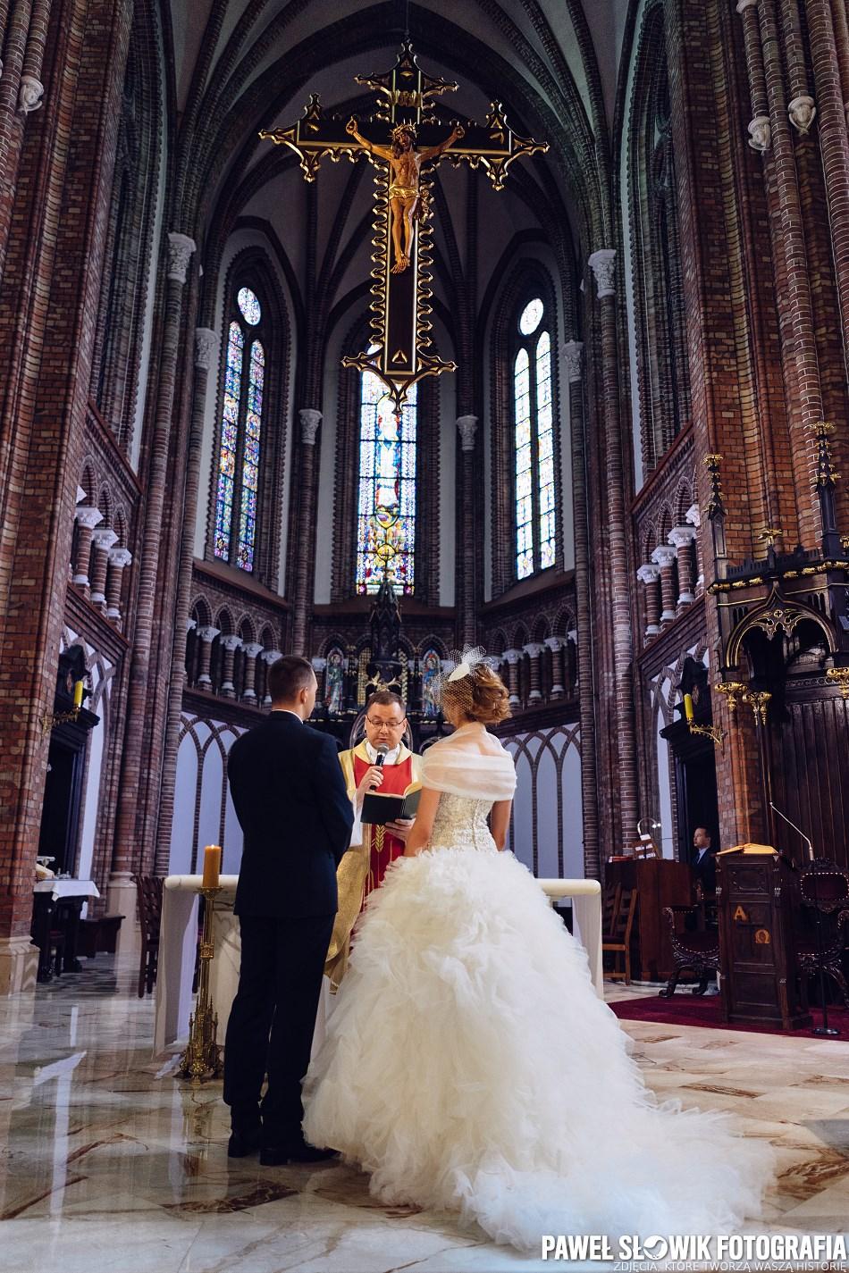 Ceremonia ślubna Siedlce Katedra Paweł Słowik Fotografia Blog