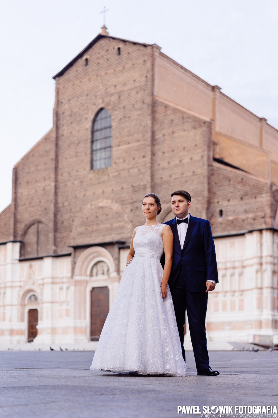 plener ślubny Bolonia Włochy