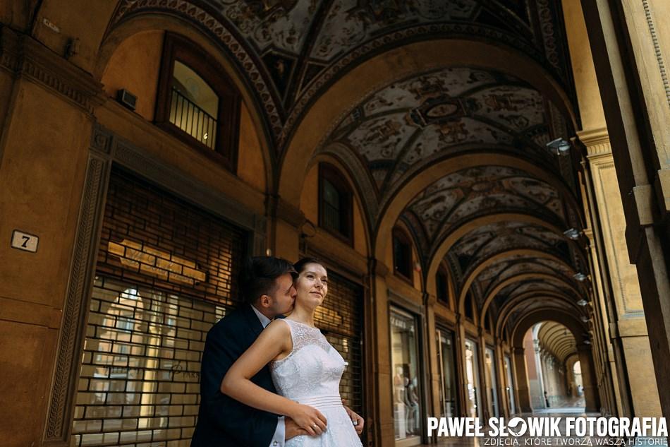 Fotografia ślubna Łódź odwiedziła Włochy