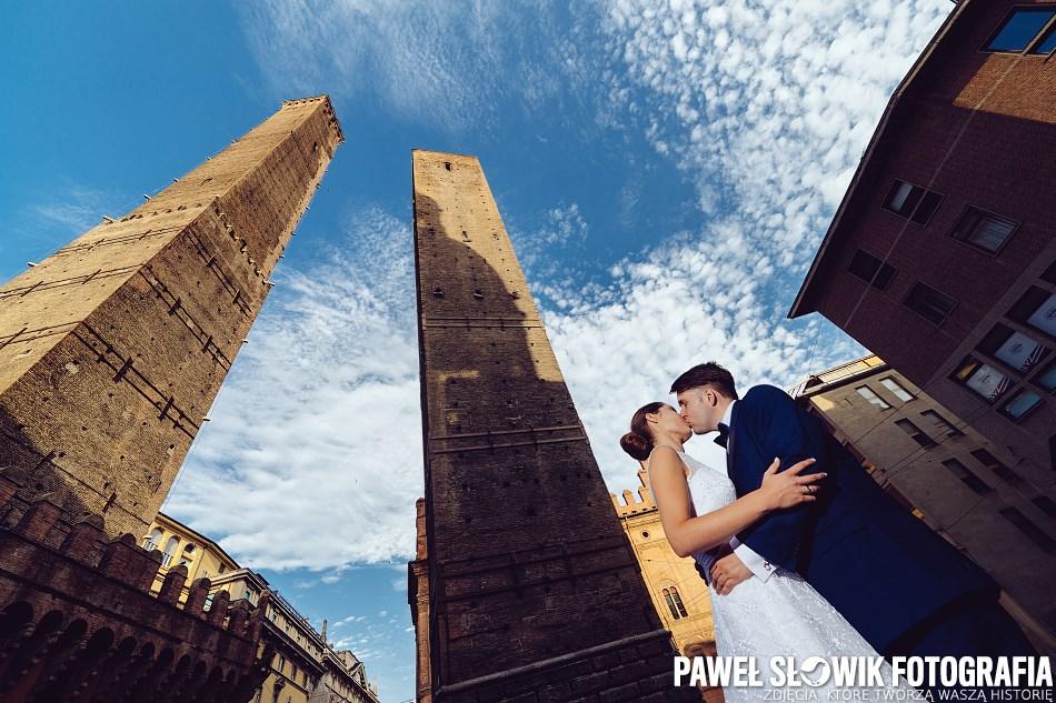 plener ślubny w mieście zdjęcia ślubne włochy plener