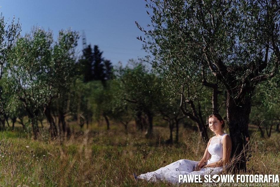 Sesje ślubna za granicą Włochy Siena Florencja Toskania