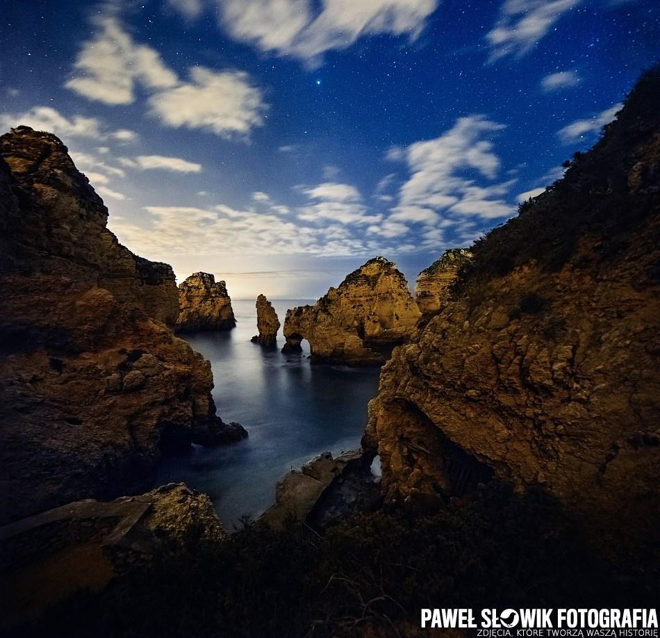 fotografia nocna gwiazdy portugalii