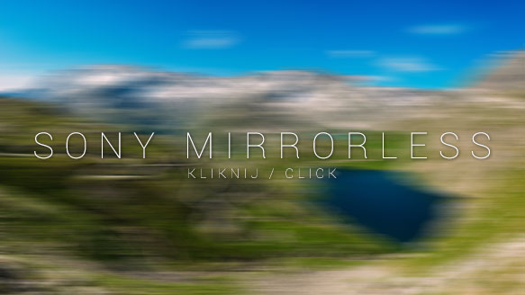 sony mirrorless