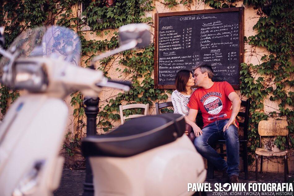 sesja zdjęciowa Rzym Włochy