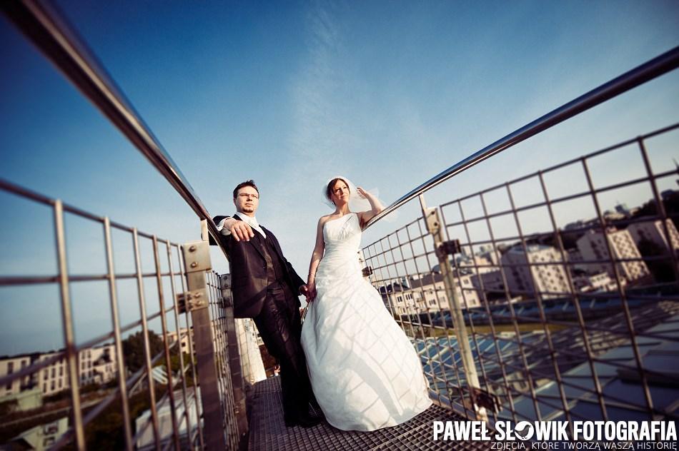 BUW Sesja ślubna