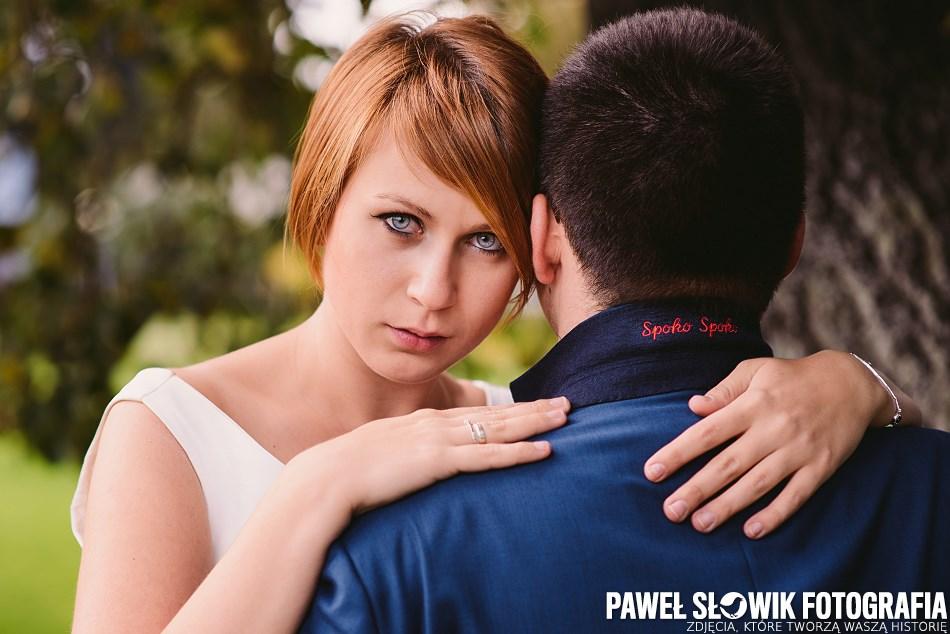 Sesja poślubna BUW