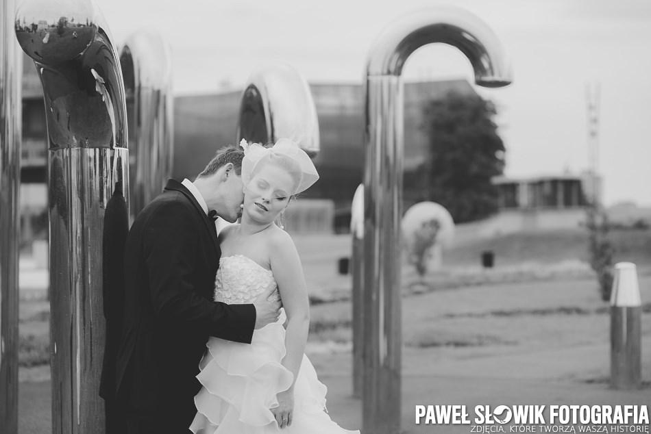 Park Odkrywców Sesja ślubna