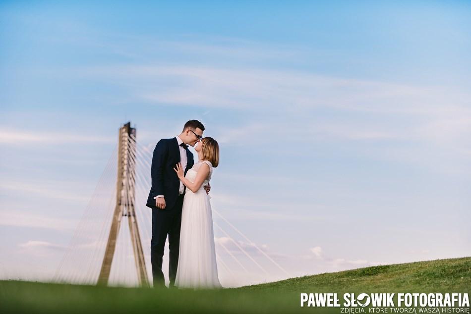Park Odkrywców Warszawa Sesja ślubna