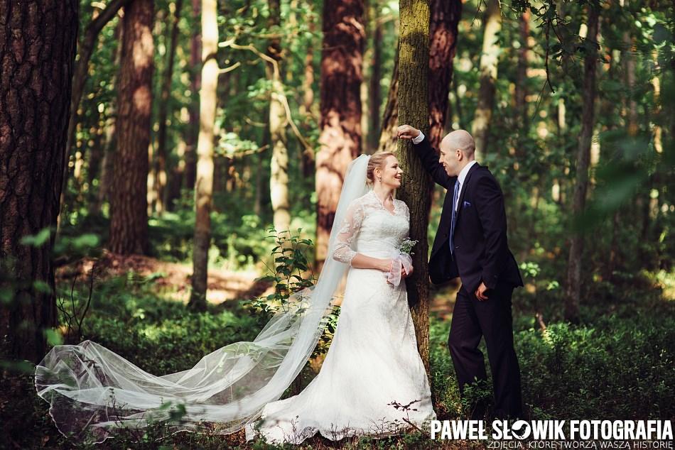 Kampinoski Park Narodowy Sesja ślubna