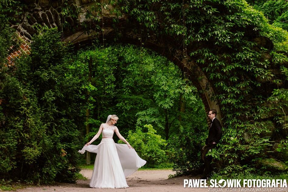 Park Arkadia sesja poślubna