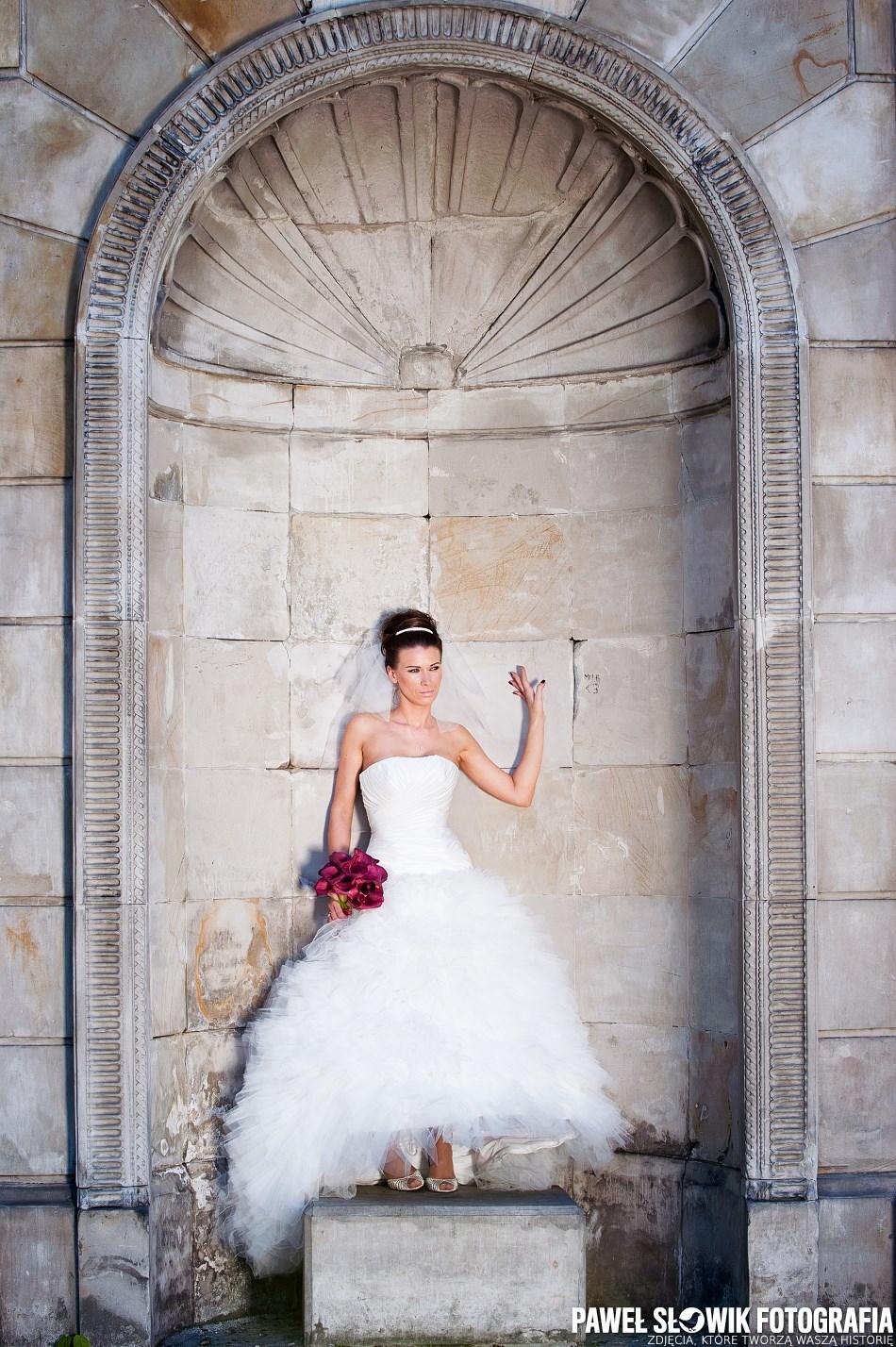 Zdjęcia ślubne w Parku Rydza Śmigłego