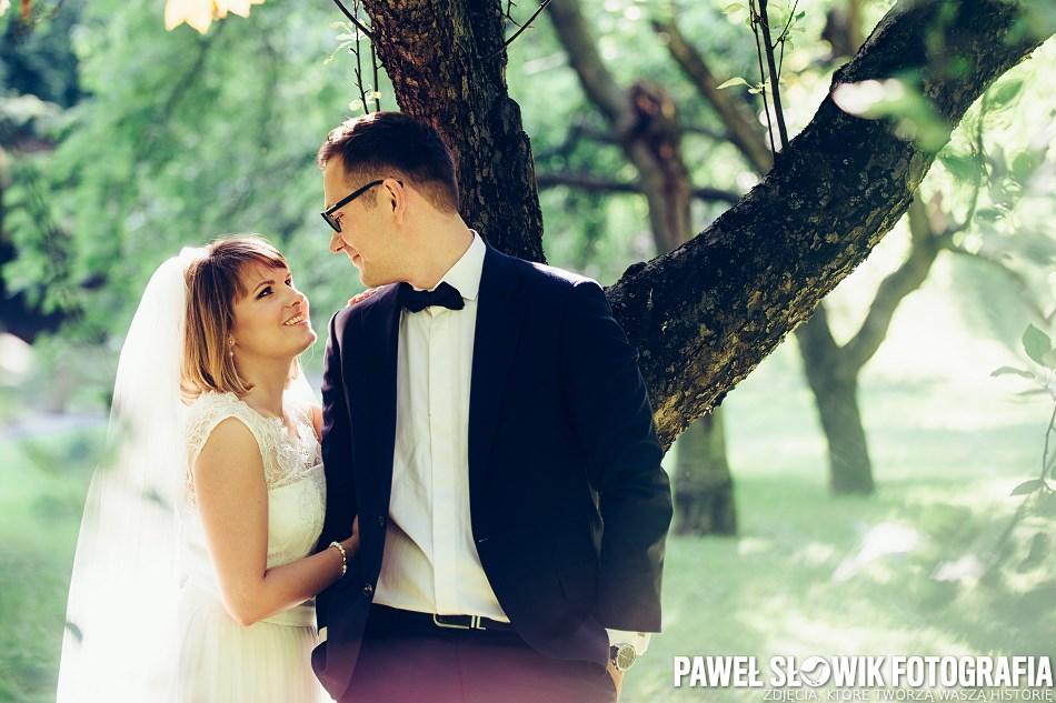Fotografie ślubne w Parku Rydza Śmigłego