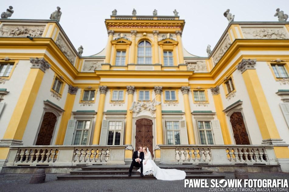 miejsce na sesję ślubną Park w Wilanowie