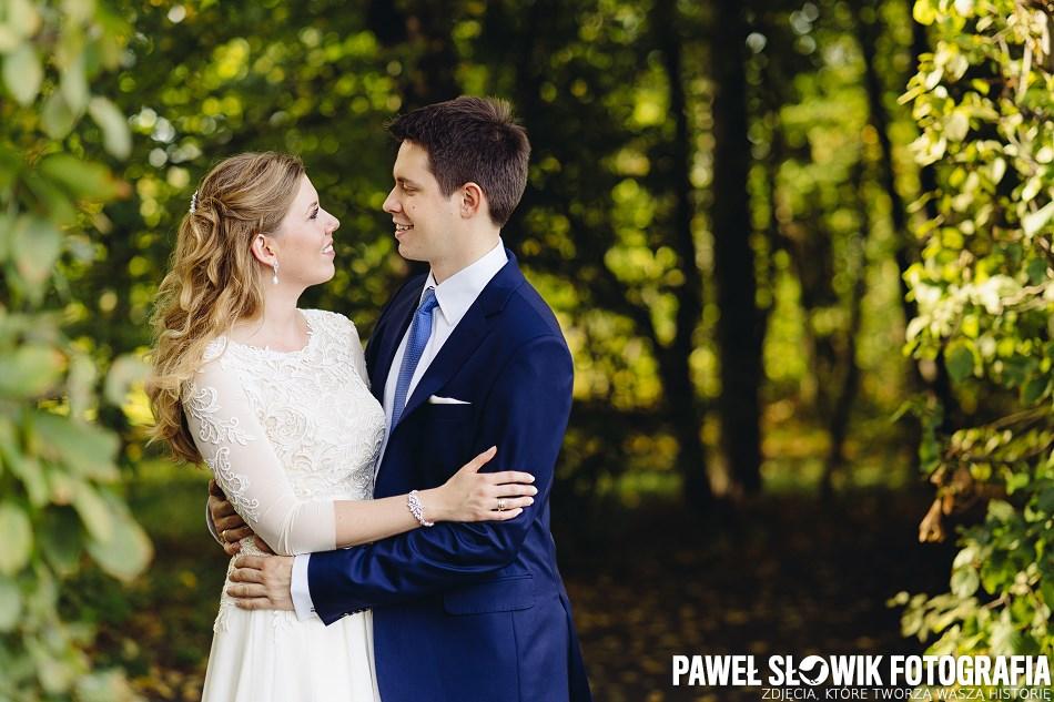 fotograf ślubny Park w Wilanowie
