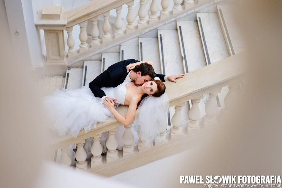 Zdjęcia ślubne na Politechnice Warszawskiej