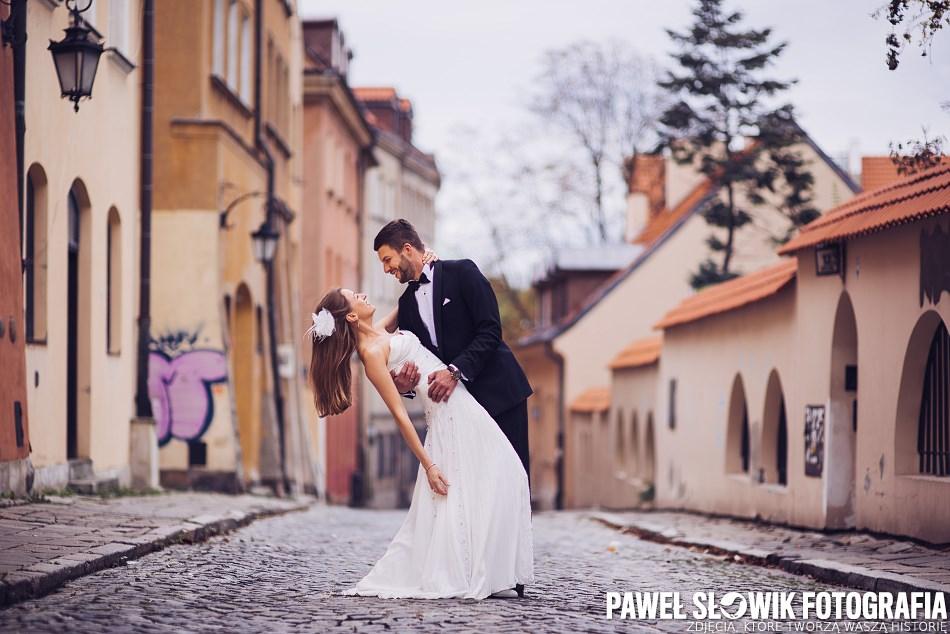 Sesja ślubna na starym mieście