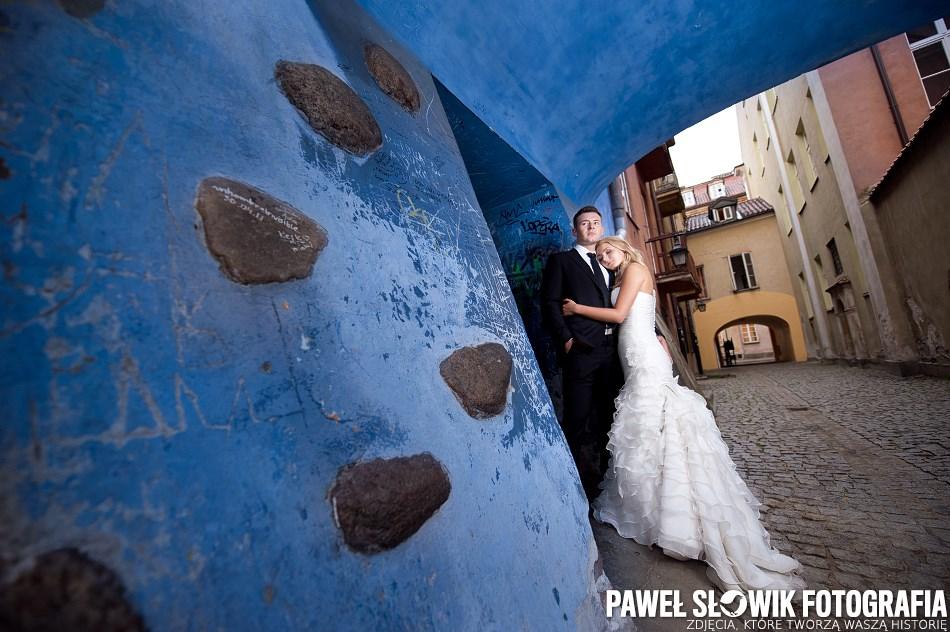 Sesja ślubna na starówce Warszawa