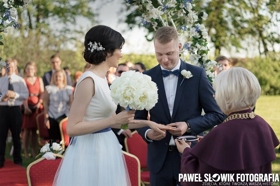 ceremonia ślubna w plenerze Nowy Dwór Mazowiecki ROYAL HOTEL