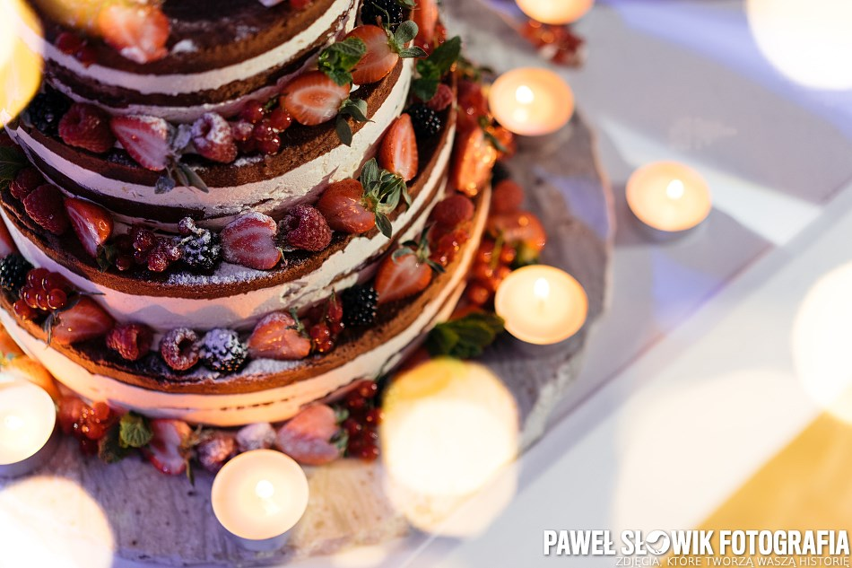 piękny i pyszny tort weselny Warszawa