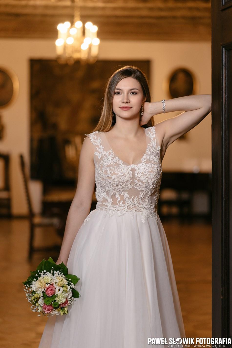 piękna panna młoda fotograf ślubny