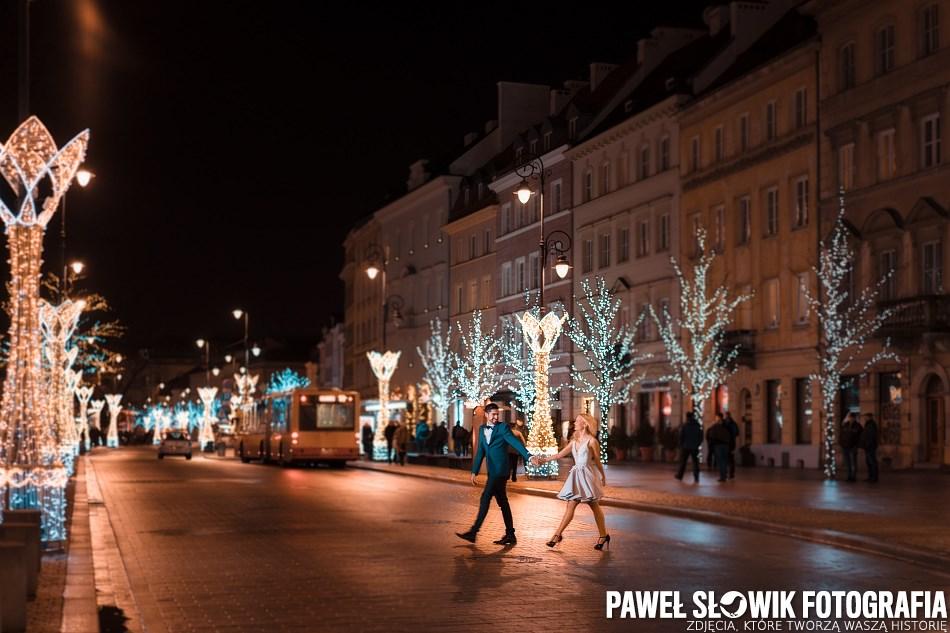 zdjęcia narzeczeńskie na starym mieście Warszawa