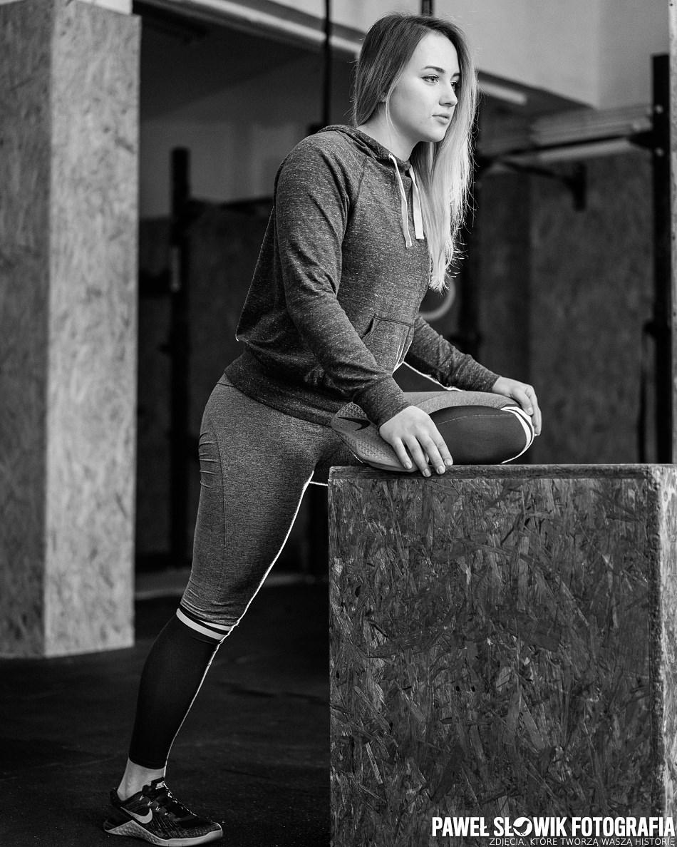 Sesja sportowa - instruktorki fitness