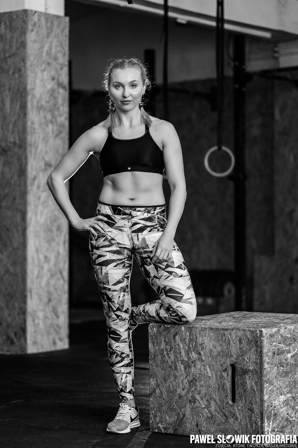 sportowa sesja be fit piękna kobieta