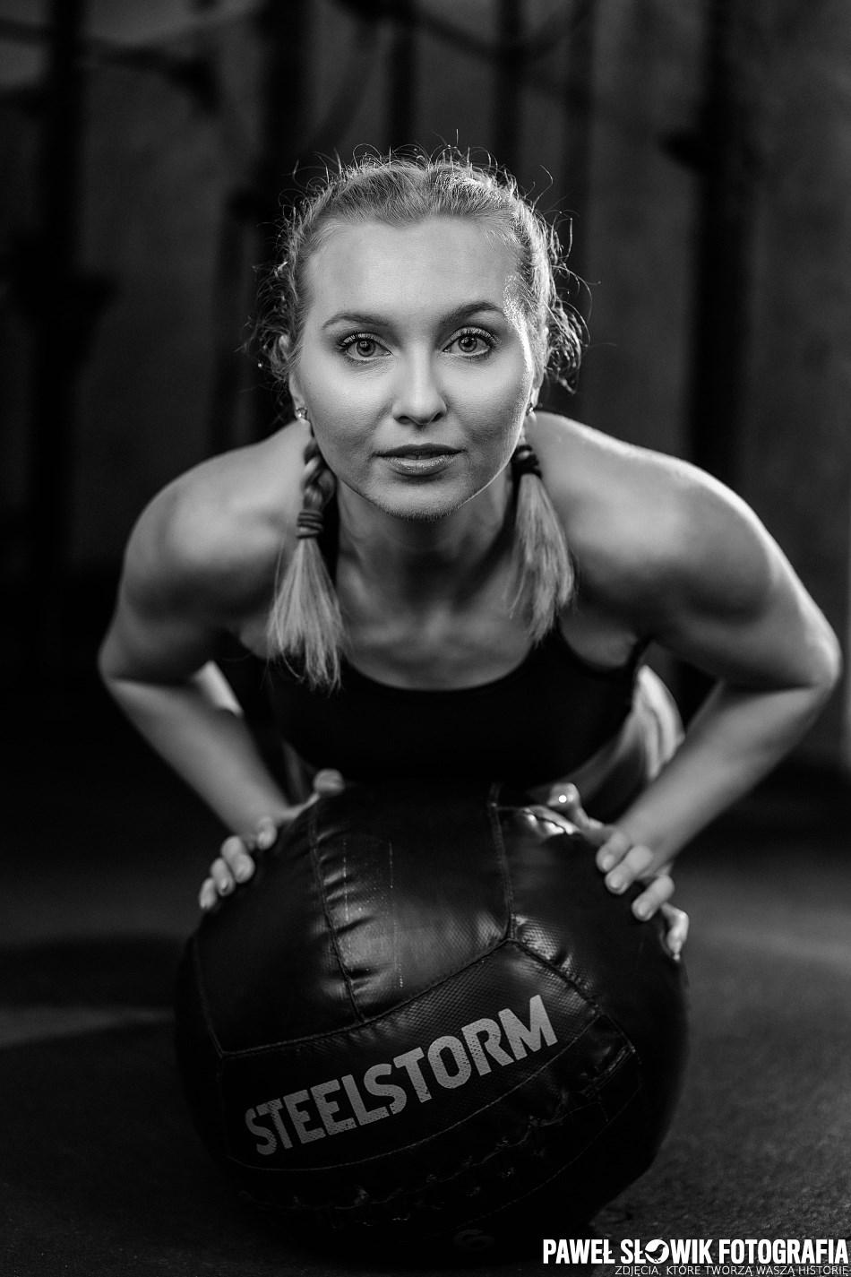 sport fitness sesja zdjęciowa Warszawa