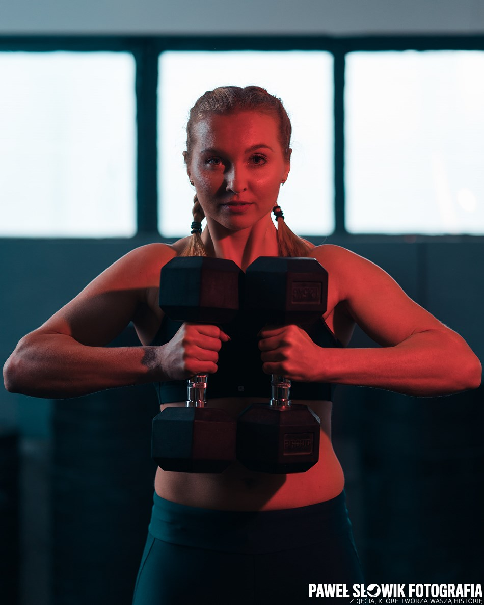 Alicja sesja fitness Warszawa