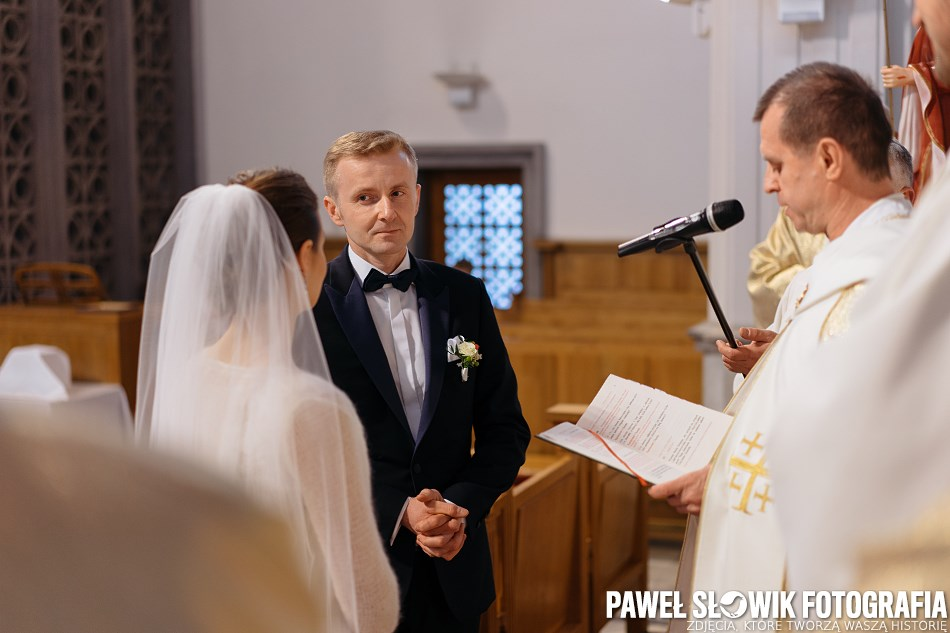 dobry fotograf na ślub Niepokalanów