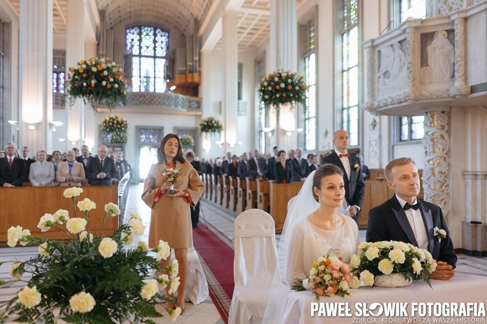 piękna naturalna fotografia ślubna